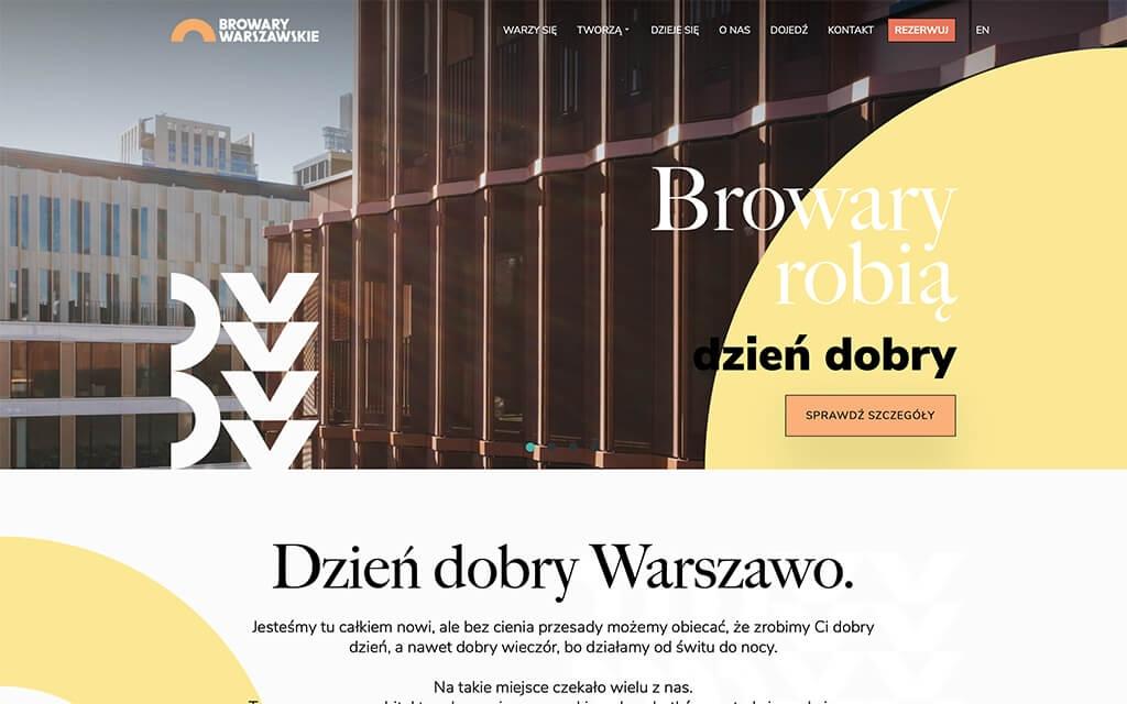 Browary Warszawskie - miejsce spotkań